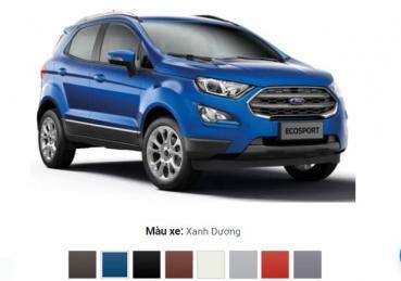 Làm thế nào để chọn màu xe Ford Ecosport hợp vận mệnh?