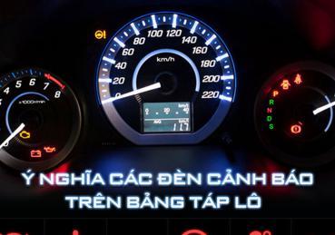 Ý nghĩa đèn cảnh báo trên bảng táp-lô xe ô tô